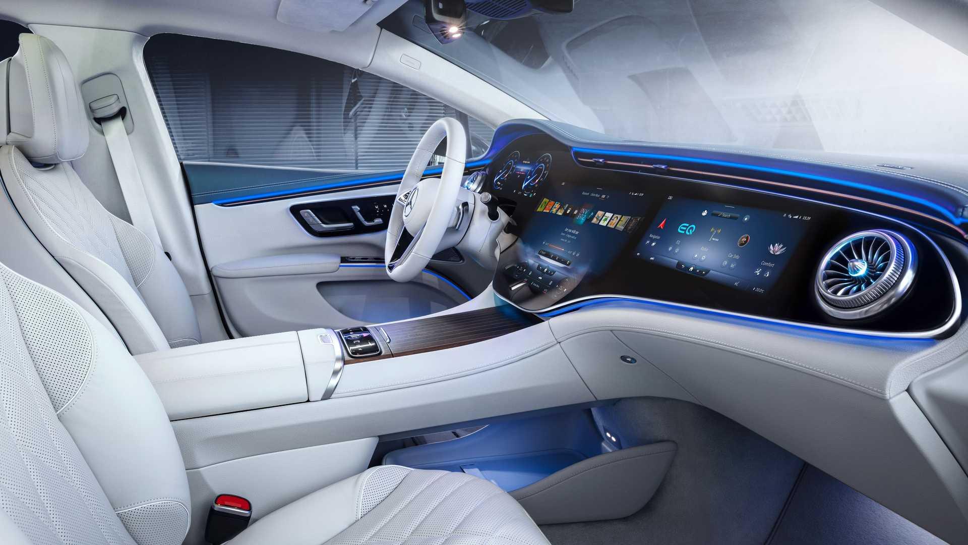 Лучшие новости об электрокаре Mercedes