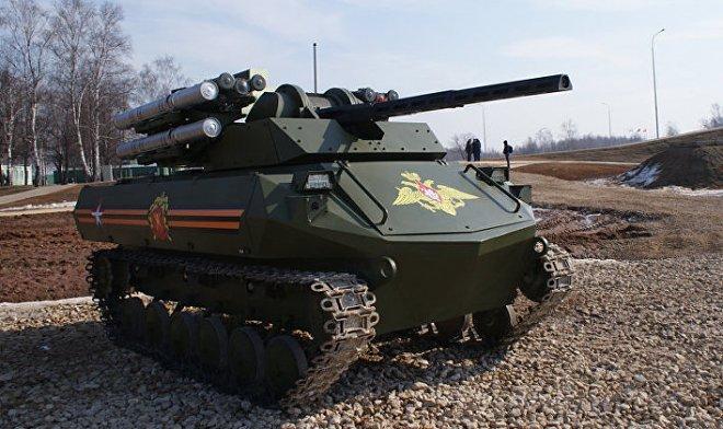 Лучшие новости о боевых роботах в Российской армии