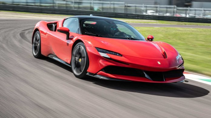 Лучшие новости о выпуске первого электрокара Ferrari