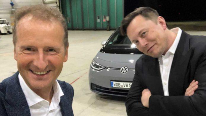 Лучшие новости о сотрудничестве Tesla и Volkswagen