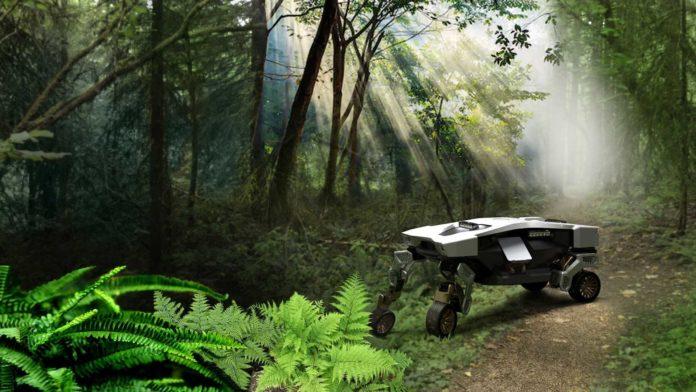 Лучшие новости о космическом армейском шагоходе Hyundai