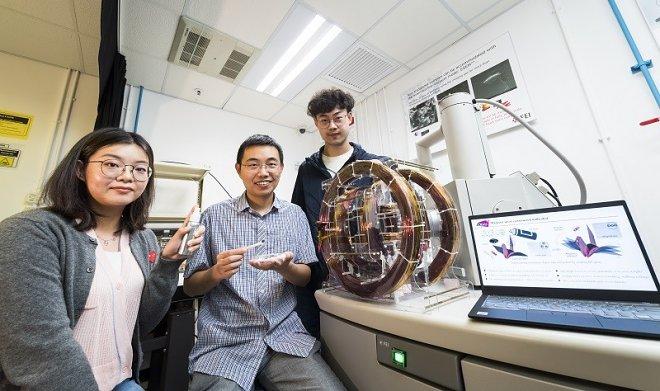 Лучшие новости о магнитном спрее, который способен превращать объекты в движущихся роботов