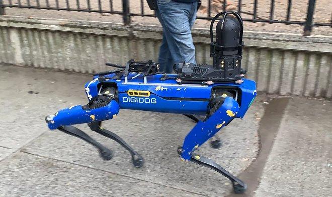 Лучшие новости о разрыве контракта между полицией Нью-Йорка и Boston Dynamics