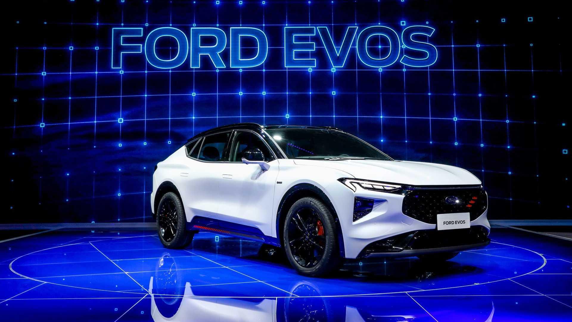 Лучшие новости об электрокроссовере Ford на базе VW