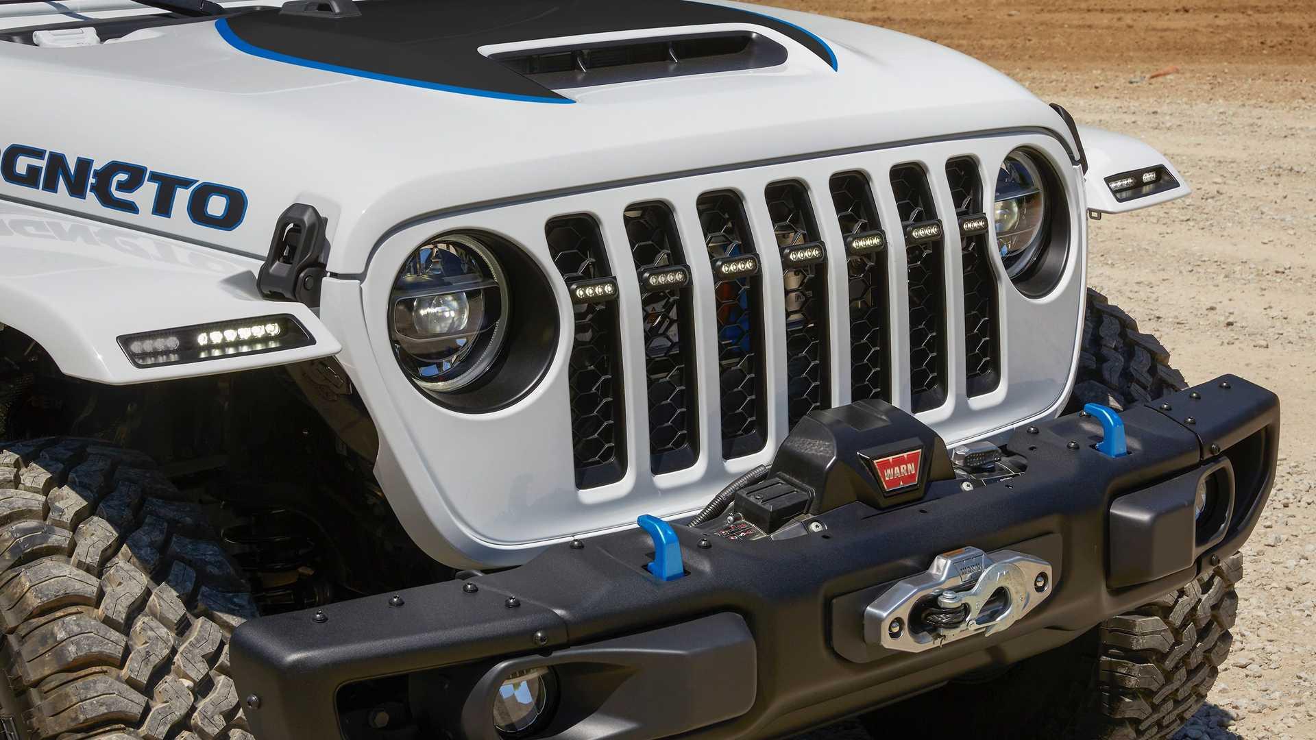 Лучшие новости об электрокаре Jeep