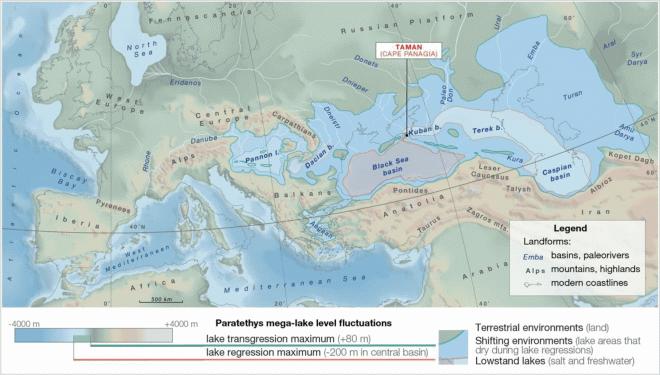 Лучшие новости о катастрофе древнего мега-озера Паратетис