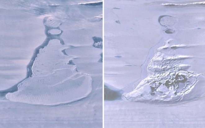 Лучшие новости об исчезновении озера в Антарктиде