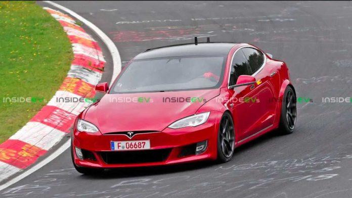 Лучшие новости о выдвижном спойлере Tesla Model S
