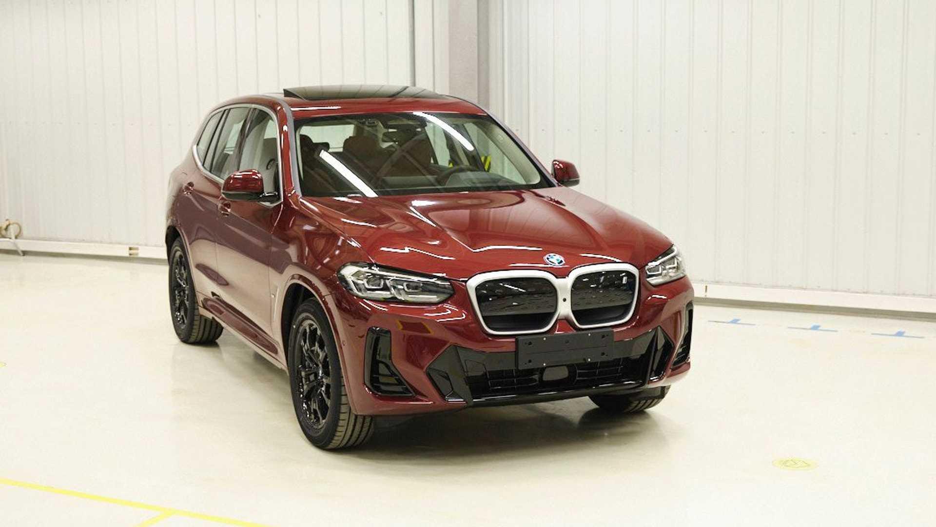 Лучшие новости об обновлении BMW X3 и iX3